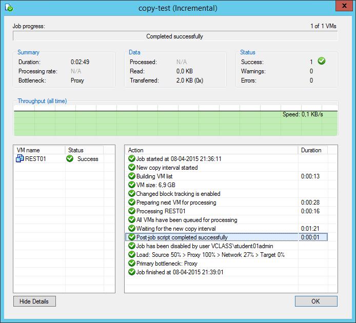 Active Full Backup for Backup Copy Job
